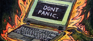 """Don't panic"" by Sarabbit"