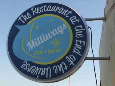 restaurant au bout de l'univers