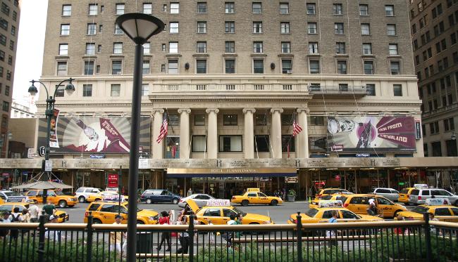 L'hôtel Pennsylvania en 2008 – Simon Law – CC BY-SA 2.0